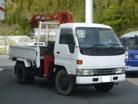 ダイハツデルタトラック4WD 3段クレーン 2.3t吊