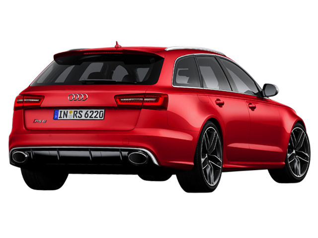 RS6アバント4.0 4WDのリアビュー