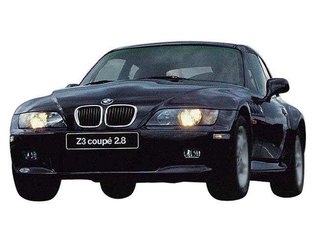 98年 H10 10月、新型時のz3coupeのフロント