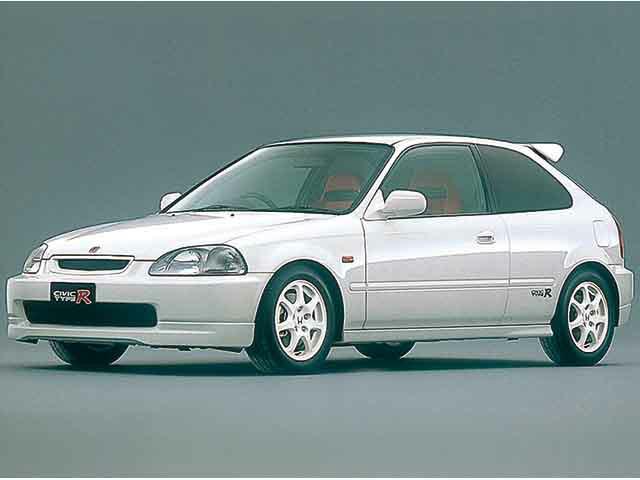 シビックタイプR 1997年8月~2001年11月生産モデルのカタログ