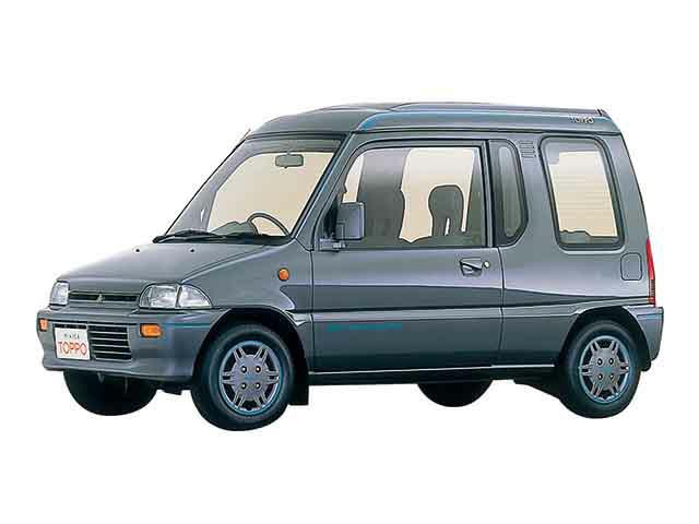 ミニカトッポ福祉車両 スロープ スロープ電動展開車(三菱)の中古車