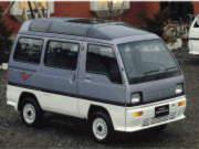 89年(S64)1月、MC時の4WD CXのフロント