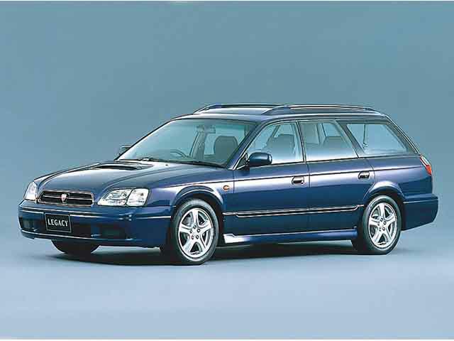 レガシィツーリングワゴン 1998年6月~2003年4月生産モデルのカタログ