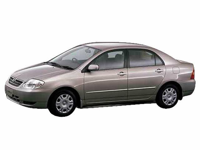 カローラ 2000年8月~2006年10月生産モデルのカタログ