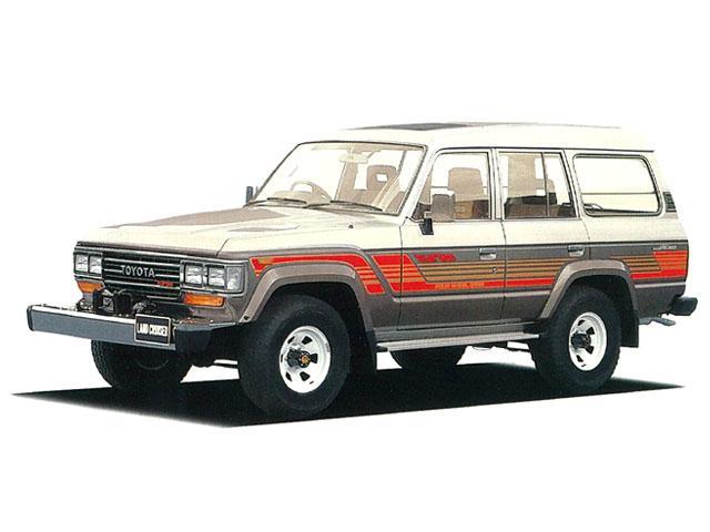 トヨタ ランドクルーザー60 4.0 GX ハイルーフ ディーゼル 4WD (1987/08~1989/12)