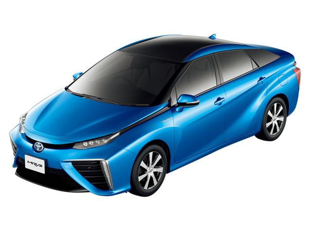 軽自動車雑学クイズ6-軽自動車の電気自動車-写真は燃料電池車のMIRAI