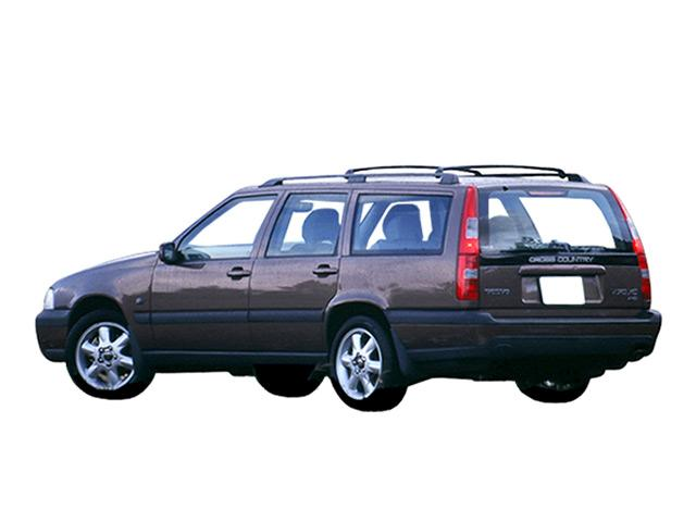 V70XCAWD 4WDのリアビュー