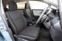 トヨタ ウィッシュ フロントシート|ニューモデル試乗