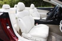 レクサス ISコンバーチブル フロントシート|ニューモデル試乗