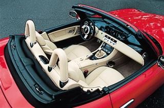 BMW Z8 インテリア|ニューモデル試乗
