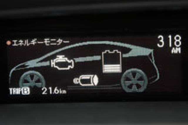 トヨタ プリウス エネルギーモニター|ニューモデル試乗