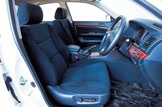 トヨタ マークII iR-V 運転席|ニューモデル試乗