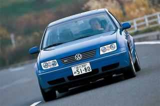VW ボーラ V6 4モーション 走り|ニューモデル試乗