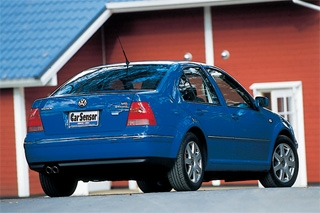 VW ボーラ V6 4モーション リアスタイル|ニューモデル試乗