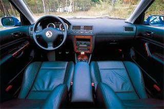 VW ボーラ V6 4モーション インパネ|ニューモデル試乗