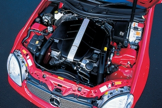 メルセデス・ベンツ SLK320 エンジン|ニューモデル試乗
