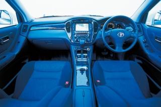 トヨタ クルーガー V インパネ|ニューモデル試乗