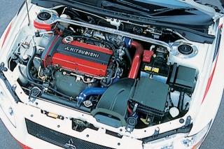 三菱 ランサーエボリューション ラリアートバージョン エンジン|ニューモデル試乗