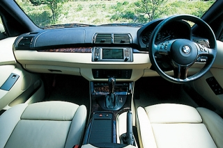 BMW X5 インパネ|ニューモデル試乗
