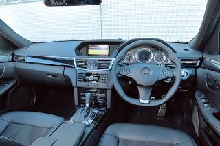 M・ベンツ E250CGI ブルーエフィシェンシー アバンギャルド インパネ|ニューモデル試乗