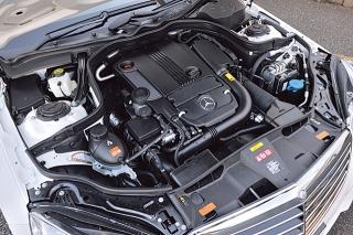 M・ベンツ E250CGI ブルーエフィシェンシー アバンギャルド エンジン|ニューモデル試乗