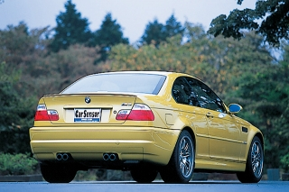 BMW M3 SMG II リアスタイル|ニューモデル試乗