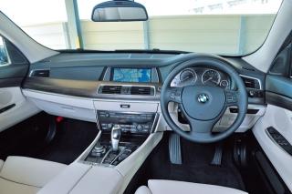 BMW 5シリーズグランツーリスモ インパネ|ニューモデル試乗