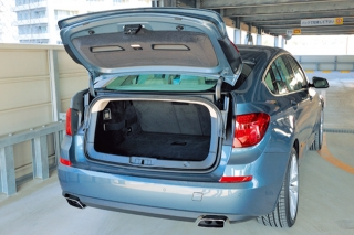 BMW 5シリーズグランツーリスモ ラゲージ|ニューモデル試乗