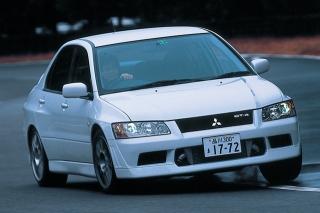 三菱 ランサーエボリューション VII GT-A 走り ニューモデル試乗