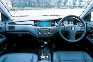 三菱 ランサーエボリューション VII GT-A インパネ ニューモデル試乗