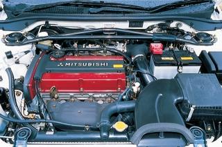 三菱 ランサーエボリューション VII GT-A エンジン ニューモデル試乗