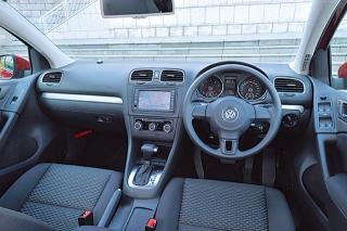 VW GOLF TSI Trendline インパネ|ニューモデル試乗