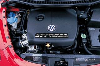 VW ニュービートル ターボ エンジン|ニューモデル試乗