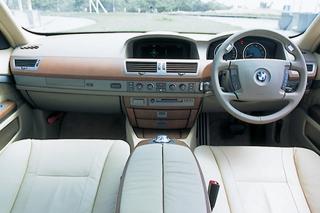 BMW 7シリーズ インパネ|ニューモデル試乗