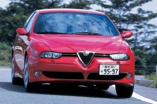アルファロメオ アルファ156 GTA 走り ニューモデル試乗