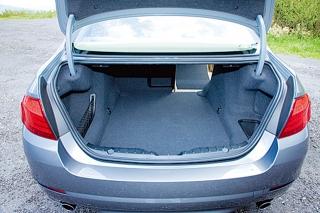 BMW5シリーズ ラゲージ|ニューモデル試乗