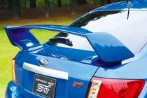 スバル インプレッサ WRX STI 4ドア 大型リアスポイラー ニューモデル試乗