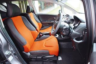 ホンダ フィット RS フロントシート|ニューモデル試乗