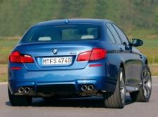 BMW M5 リアスタイル|ニューモデル速報
