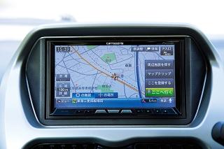 三菱 i-MiEV HDDナビゲーション(オプション) ニューモデル試乗