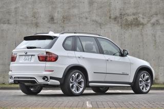 BMW X5 xドライブ35d ブルーパフォーマンス リアスタイル|ニューモデル試乗
