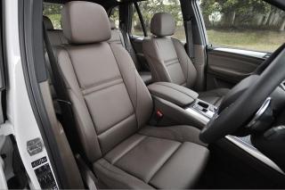BMW X5 xドライブ35d ブルーパフォーマンス フロントシート|ニューモデル試乗