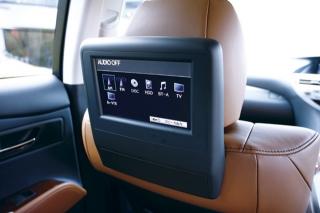 レクサス RX450h リアシートエンターテインメントシステム|ニューモデル試乗