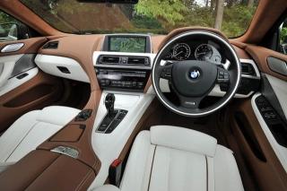BMW 6シリーズ グランクーペ インパネ|ニューモデル試乗