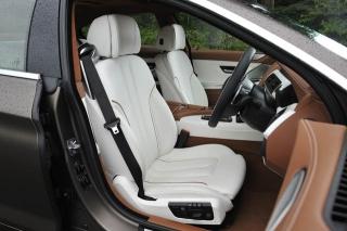 BMW 6シリーズ グランクーペ シート|ニューモデル試乗