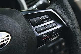 スバル レガシィシリーズ SIドライブのスイッチ|ニューモデル試乗