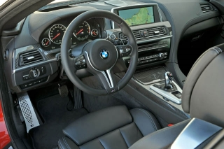 BMW M6クーペ インパネ ニューモデル試乗