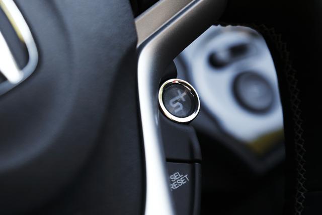 ホンダ CR-Z PLUS SPORTS ボタン|ニューモデル試乗