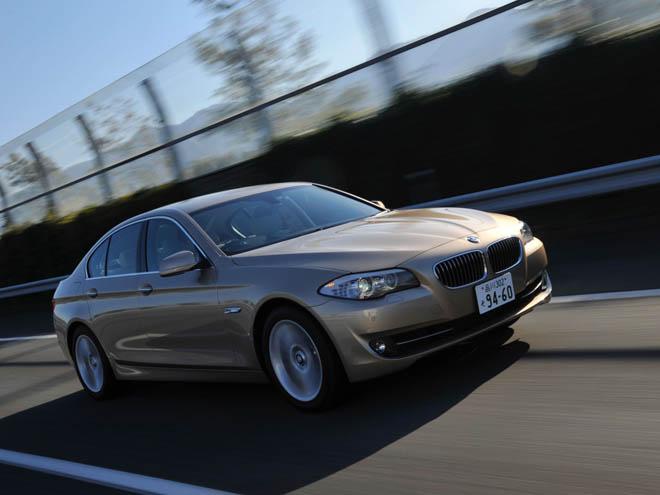 BMW 523d ブルーパフォーマンス ニューモデル試乗