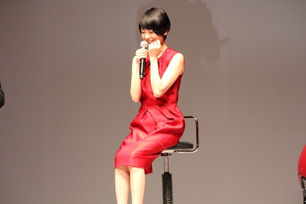 テレビCMキャラクターに起用された女優の真木よう子さん。SAIの印象については「スタイルがいい」と回答